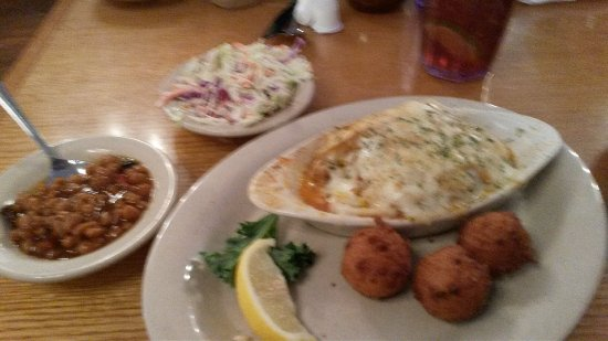 Macclenny, FL: Stuffed Flounder - Side Choices Leave A Lot To Be Desired.
