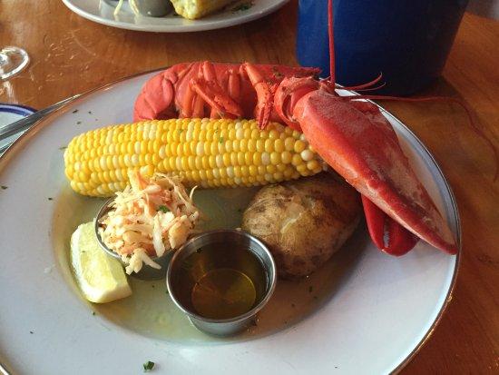 Menemsha, MA: Lobster dinner.
