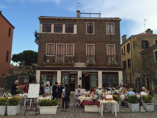 Ristorante Al Redentor : Decent food with a view
