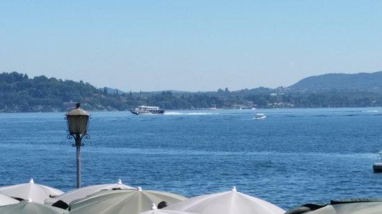 La vista dalla terrazza - Picture of Hotel Ristorante Lago Maggiore ...