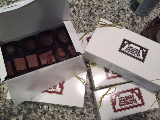 Chilmark, MA: A few boxes of chocolate.