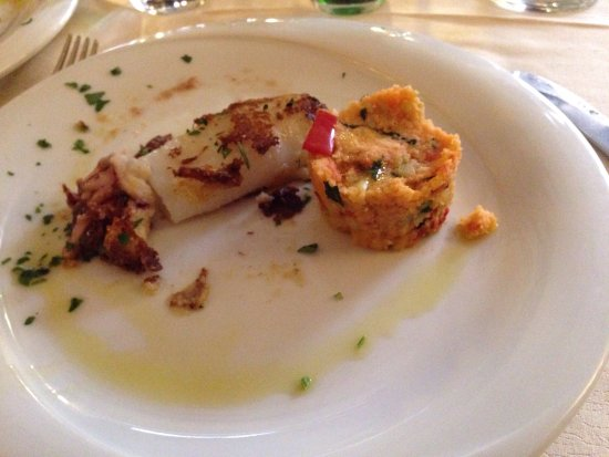 Osteria La Gensola: Seared Squid...amazing