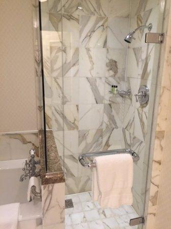 InterContinental Dublin: Stand-alone shower