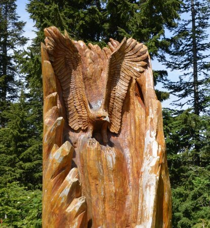 North Vancouver, Kanada: Carvings.