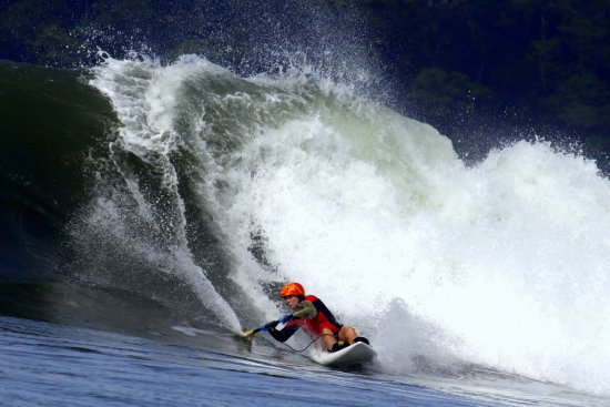 Hotel Santa Catalina Panama: Surf is ridable from 2 ft to 15 ft.
