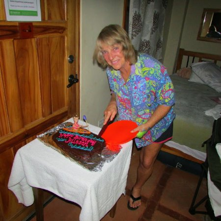 Hotel Santa Catalina Panama: Staff. When I celebrated my 70th Birthday , the staff made me this cake. How special is that !!!