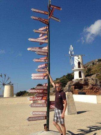 Creta, Grecia: het dakzicht
