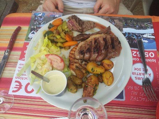 Revel, Γαλλία: Assiette grillardin