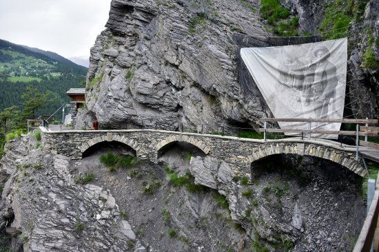 Chandolin, Suíça: Pas capona