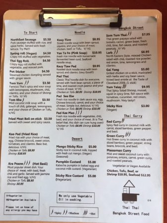 Lakewood, OH: menu