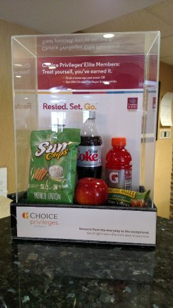 Englewood, Colorado: Welcome treats for Choice Privileges Members