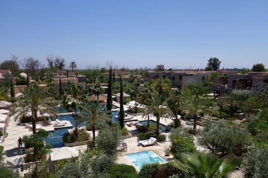 Four Seasons Resort Marrakech: View from our room