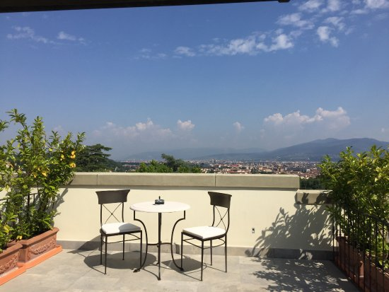 Villa Cora: Beautiful view from our room