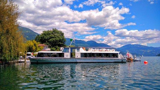 Seeboden, ออสเตรีย: Hotel-eigenes Schiff