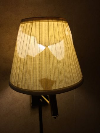 Rantoul, IL: busted lamp shade