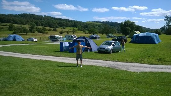 Hawkshead Hall Campsite: The best campsite in the lakes