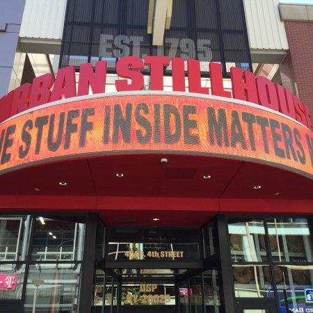 Jim Beam Urban Stillhouse: Outside of store