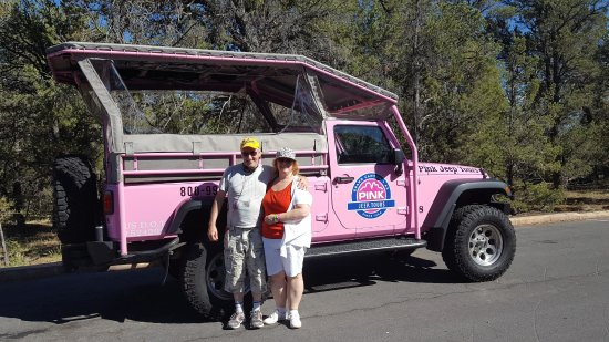 ‪‪Tusayan‬, ‪Arizona‬: The Pink Jeep‬