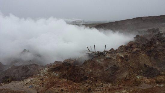 Grindavik, Island: Venting
