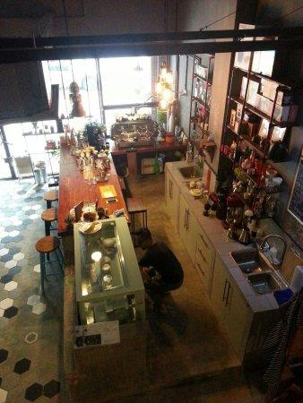 Zhongshan, Cina: 中山市的素食咖啡店