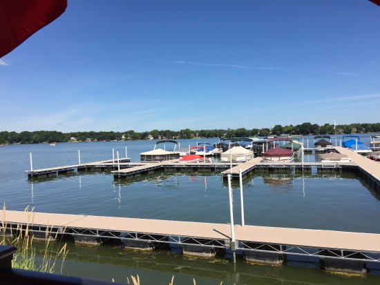 Prior Lake, MN: View from outside dining area