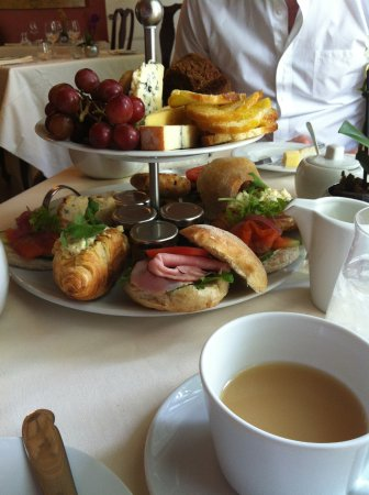 The Charles Hotel: High Tea in Charles' dining room