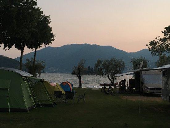 Marone, Italië: Camping Riva di San Pietro