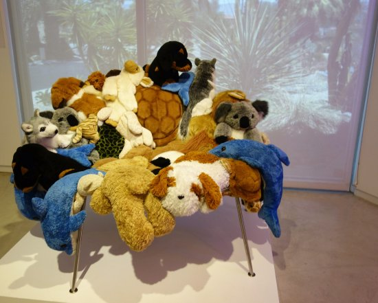 Palm Springs Art Museum In Palm Desert: Stuffed Animal Chair By Campana  Brothers