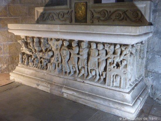 Saint-Hilaire, Francia: Sarcophage du maître de Cabestany
