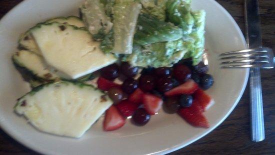 Severna Park, MD: Fresh fruit and Caesar salad
