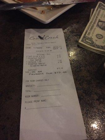 Canyonville, Oregon: Nicole P, best server ever!!