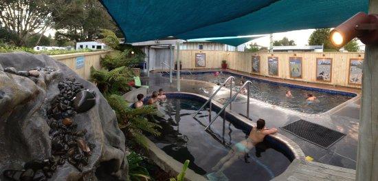 Bay of Plenty Region, Nueva Zelanda: Thermal Pools  at Athenree