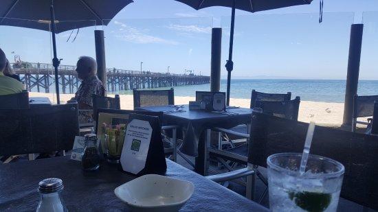 Beachside Bar-Cafe Goleta, CA right on the beach