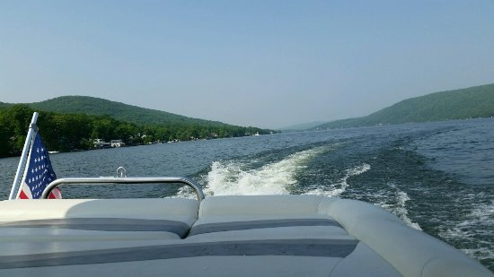 Greenwood Lake, NY: Views on the lake