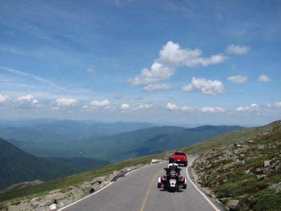 Route Proche Du Somet Picture Of Mount Washington Auto