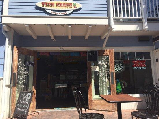 Avila Beach, Калифорния: Great Fresh Fish tacos!