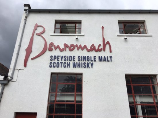 Forres, UK: The distillary at Benromach