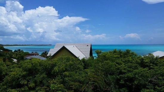 Shannas Cove Resort : High above Shanna's Cove