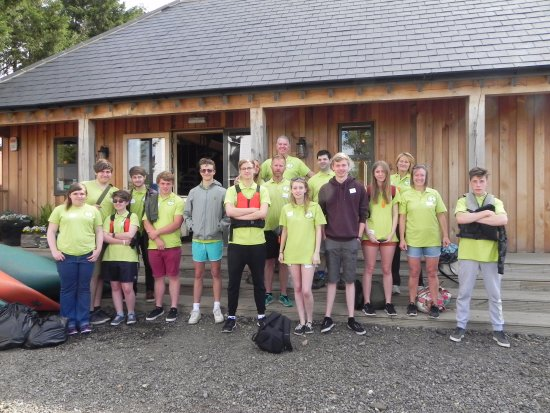 Newenden, UK: 'Life is not an X Box' Team building