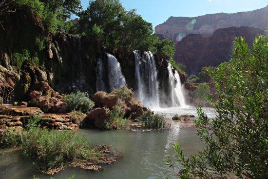 Havasupai Falls: Fifty Foot Falls
