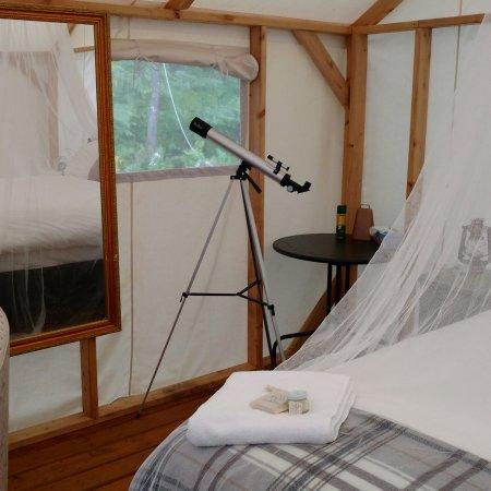 Renfrew, Kanada: Elements Luxury Tented Camp