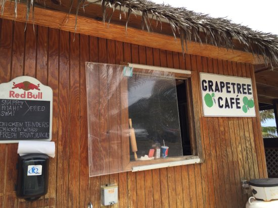 Bodden Town, Grand Cayman: The Grape Tree Cafe