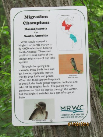 Den Rock Park: Signs everywhere in the bird sanctuary