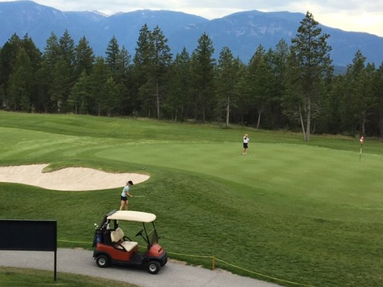 Invermere, Καναδάς: View from room 214A