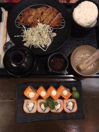 Taft, Philippines: California Maki & Chicken Katsu