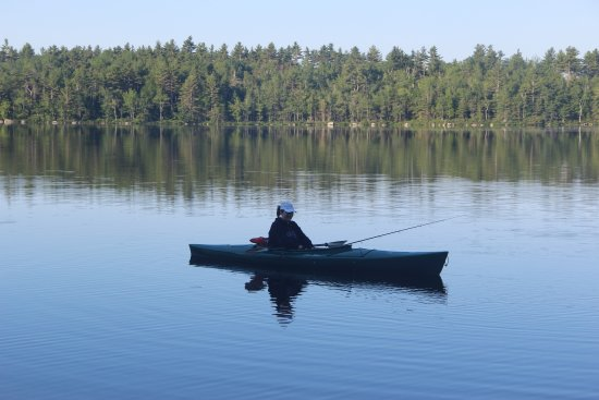 Ellsworth, ME: Fishing on Patten Pond