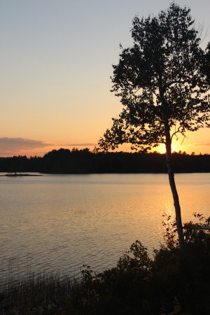 Ellsworth, ME: Patten Pond Sunset