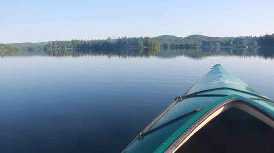Ellsworth, ME: Kayaking on glass