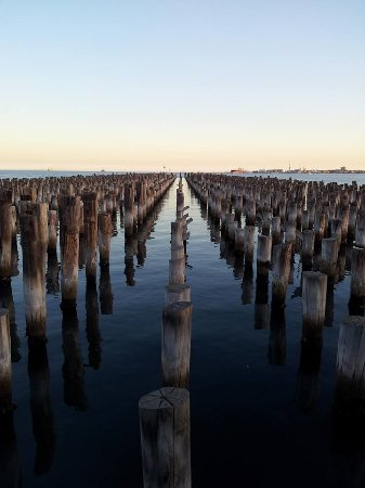 Port Phillip, Αυστραλία: at the end of the pier