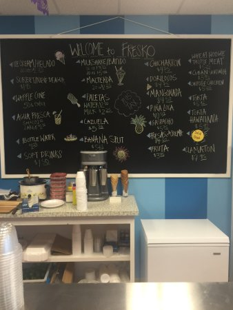 Murfreesboro, TN: Fresko Frozen Treats